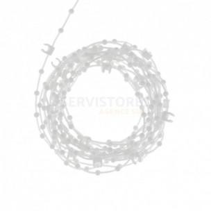 Chainette basse de store à bandes verticales