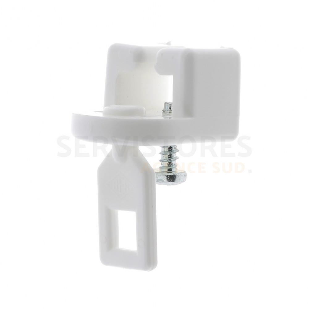 Blanc 90 /à 140 cm Fix Rod 5813.C9 Tringle Extensible Entre 2 Murs M/étal
