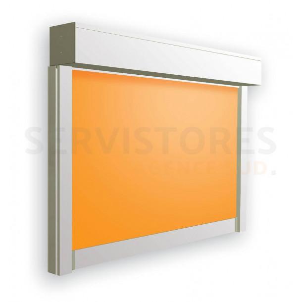 Store de fenêtre avec coffre