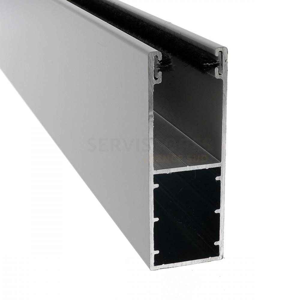 Coulisse Aluminium De 75 X 27 Mm Pour Volet Roulant Renovation Ref Bpgl051c03 Servistores Sud