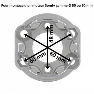 Support moteur Somfy
