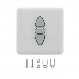 1800019 SOMFY Inverseur int/éreur filaire position fixe INIS KEO encastr/é SOMFY
